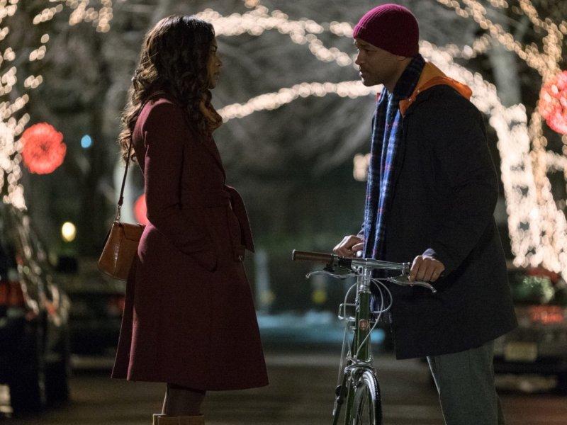 Collateral Beauty - Szenen - 10 Madeleine (Naomie Harris), Howard Inlet (Will Smith)