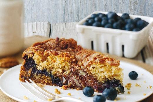 Blaubeeren, Zitronen & Kaffee vereint in einem Cake - LIFEREY